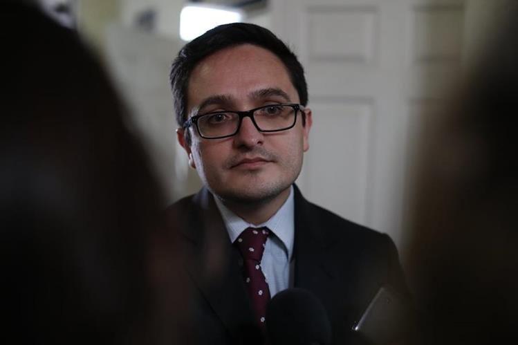 Jefe de la Feci, Juan Francisco Sandoval, habla sobre cambios en la fiscalía. (Foto Prensa Libre: Archivo)