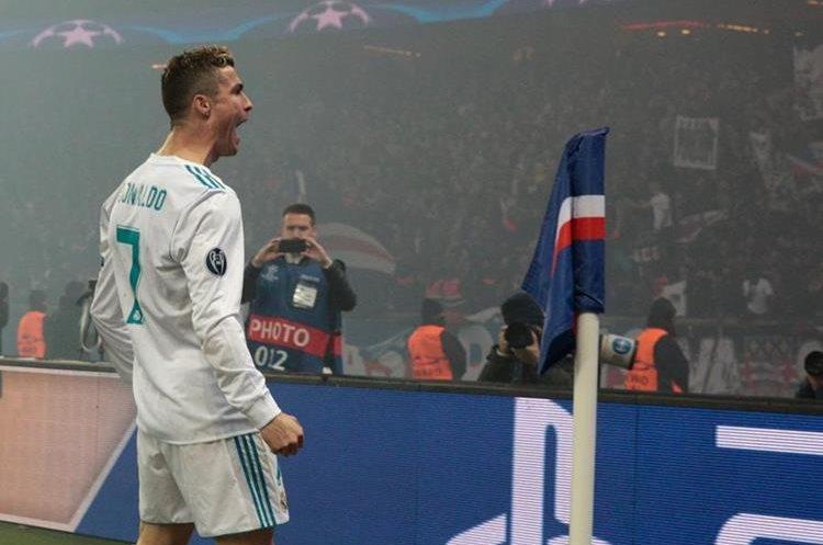 Cristiano marcó en su noveno juego consecutivo de Champions.