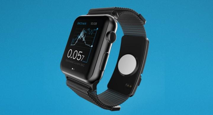El wearable BACtrack Skyn puede adaptarse a un reloj Apple Watch o utilizarse de manera independiente. (Foto: Hemeroteca PL).