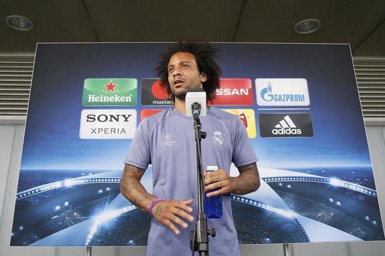 Marcelo dijo que el equipo está motivado luego de ganar la Liga. (Foto Prensa Libre: EFE)