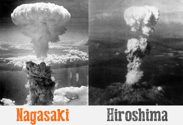 Fotos de las explosiones de las bombas atómicas lanzadas en Nagasaki e Hiroshima. (Fotos: Archivo)