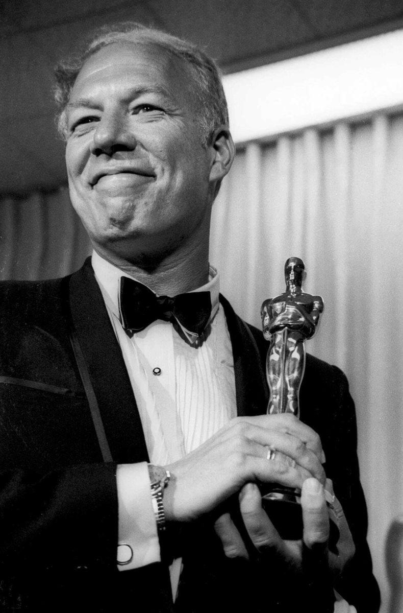 George Kennedy ganó el Óscar como mejor actor de reparto en la década de 1960. (Foto Prensa Libre: AP).