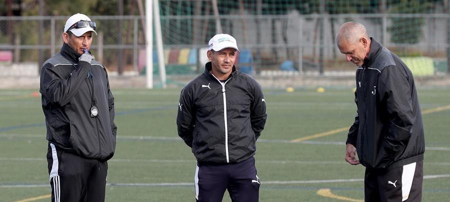 Ronald González, Rigoberto Gómez y el preparador físico Rodolfo González quedaron al margen del club. (Foto Prensa Libre: Hemeroteca PL)