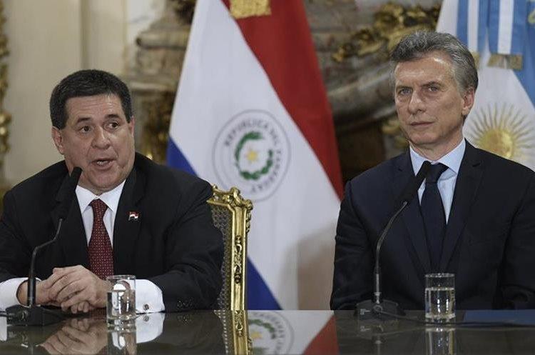 Los paraguayos se sienten complacidos con su inclusión en el proyecto de la candidatura conjunta del mundial 2030. (Foto Prensa Libre: AFP)