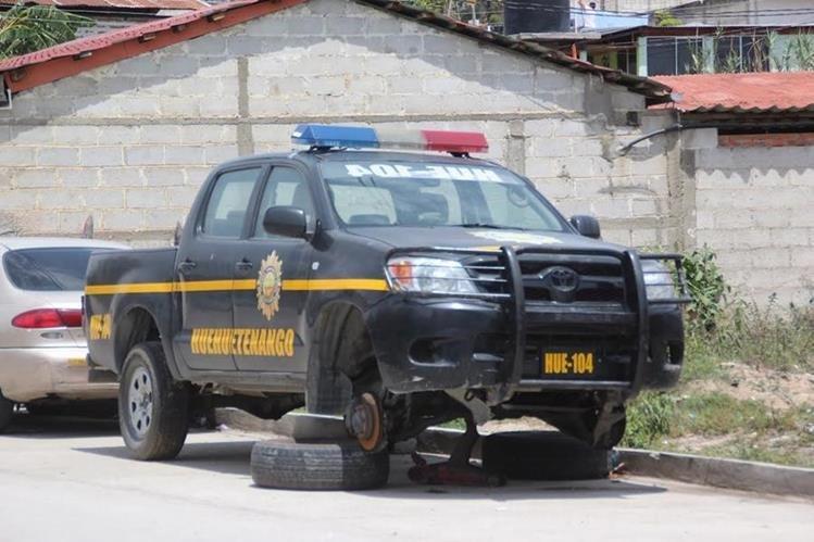 La PNC adjudico más de Q15 millones para la adquisición de neumáticos. (Foto Prensa Libre: Hemeroteca PL)