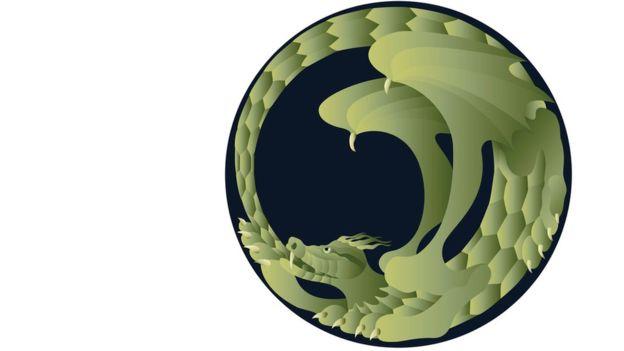 Los uróboros son serpientes o dragones mordiéndose su propia cola y fueron adoptados como símbolos tanto de la alquimia y del Hermetismo, para representar conceptos como la perpetuamente cíclica renovación de la vida, el infinito, la eternidad. THINSTOCK