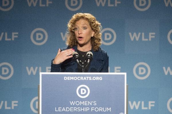 Debbie Wasserman Schultz, presidenta del Partido Demócrata estadounidense.(EFE).
