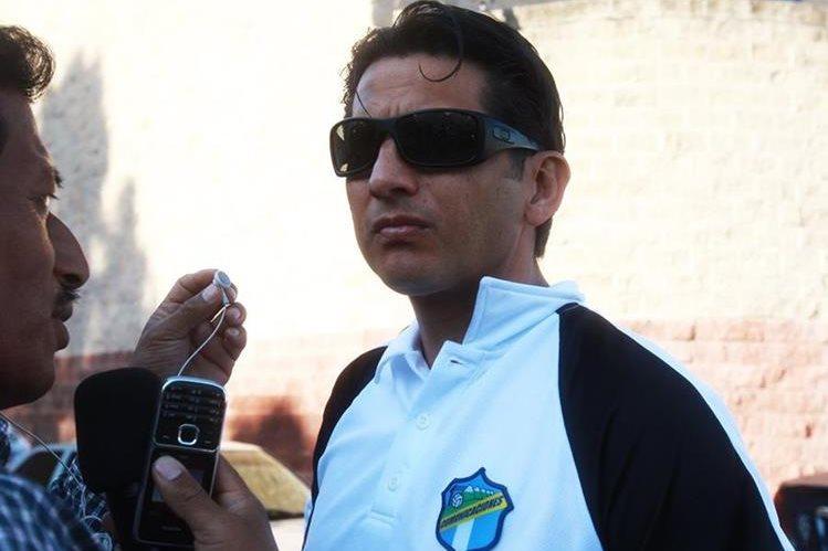 Ronald González vuelve a ser parte de la historia crema. (Foto Prensa Libre: Hemeroteca PL)