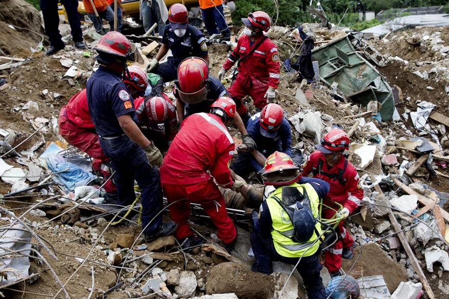 En un principio las autoridades habían dicho que las personas desaparecidas eran 600. (Foto Prensa Libre: Hemeroteca PL)