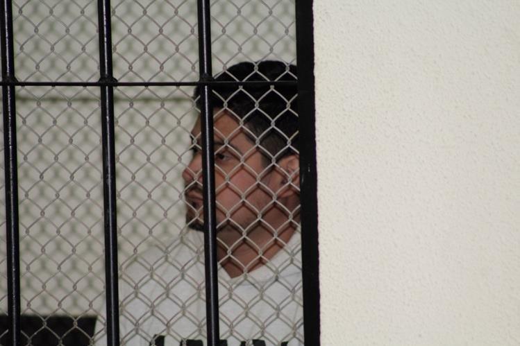 Fausto Roberto Escobar fue hallado culpable de extorsión. (Foto Prensa Libre: María José Longo).
