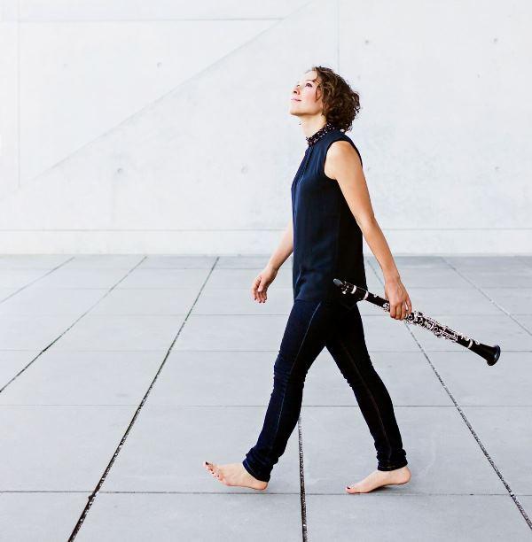 Bettina Aust es una virtuosa del clarinete. (Foto Prensa Libre: Cortesía Embajada de Alemania)