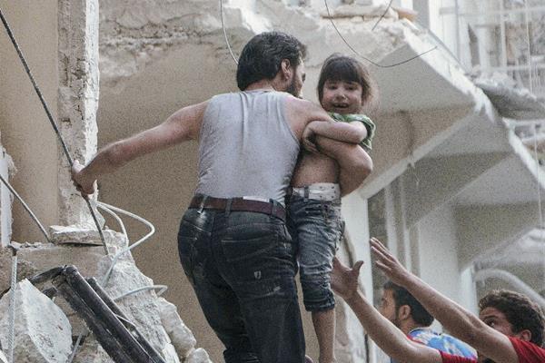 Guerra civil en Siria impacta en niños.