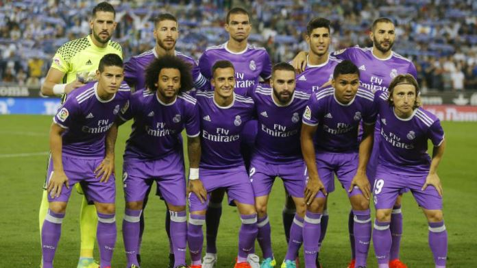 El Real Madrid jugará de morado la final de la Champions contra la Juventus. (Foto redes).