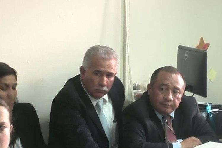 Exministro de Gobernación, Salvador Gándara, es enviado a prisión por no pagar fianza de Q15 millones. (Foto Prensa Libre: Byron Vásquez)