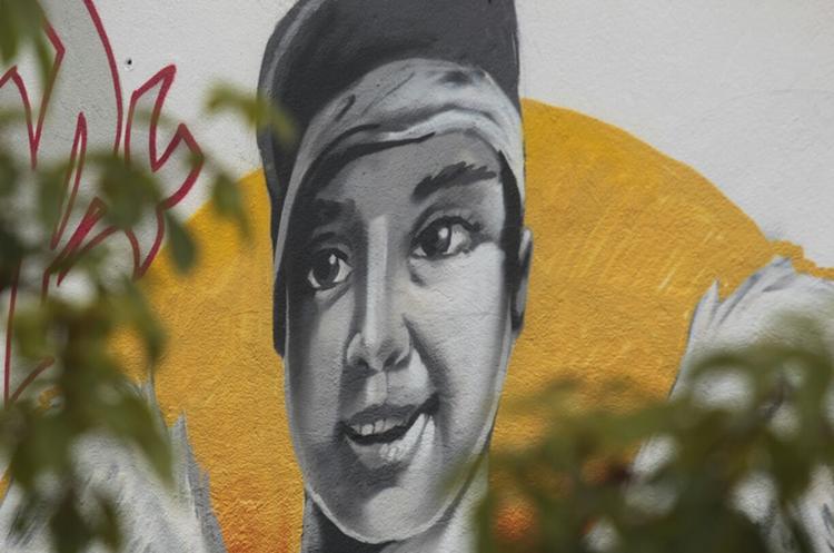 Varios murales han sido pintados en la zona 4 capitalina. (Foto Prensa Libre: Carlos Hernández)