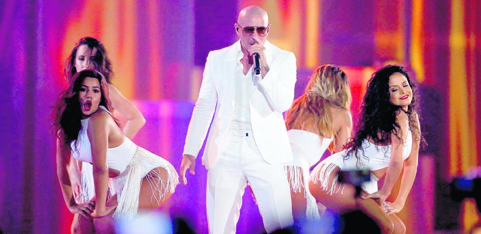 Pitbull cantará el tema oficial de la Copa América Centenario (Foto Prensa Libre: Hemeroteca PL)