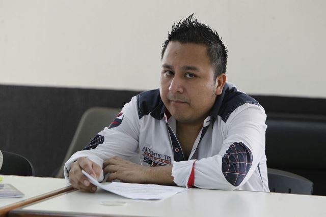 Melvin González López es requerido por Estados Unidos. (Foto Prensa Libre: Paulo Raquec)