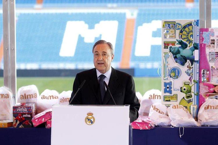 El presidente del Real Madrid, Florentino Pérez habló sobre el caso De Gea. (Foto Prensa Libre: Hemeroteca PL)