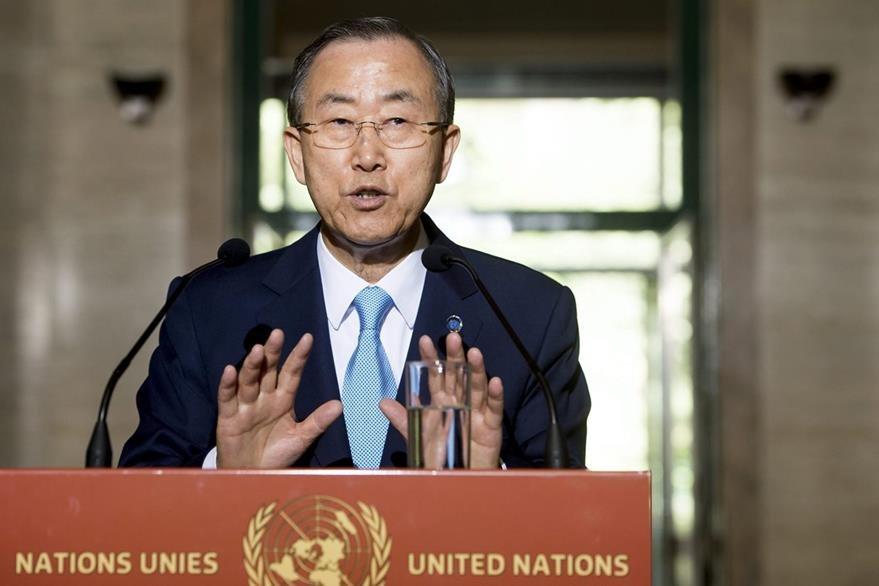 El actual secretario general de la ONU es Ban Ki-moon. (Foto: EFE)