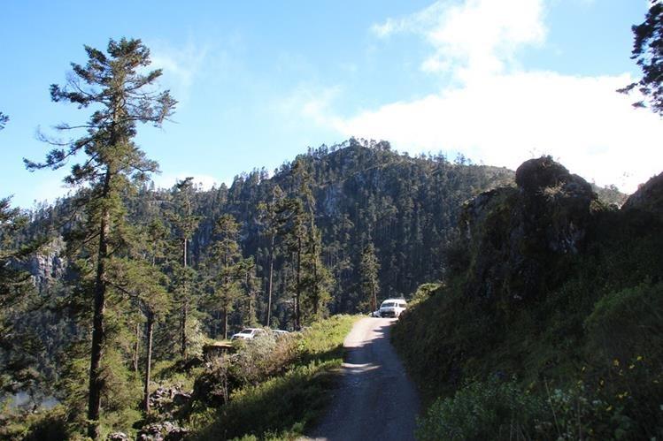 Programa ecológico contempla la protección de zonas de recarga hídrica, como la de Pepajau Magdalena, en Chiantla, Huehuetenango. (Foto Prensa Libre: Mike Castillo).