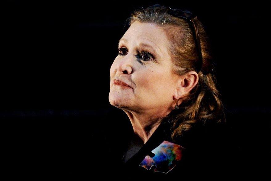 Carrie Fisher es uno de los rostros más conocidos de Star Wars. (Foto Prensa Libre: EFE)