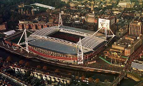 El estadio Millennium está situado en las orillas del río Taff. (Foto Prensa Libre Agencias)