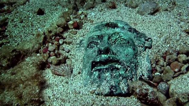 Un tesoro en el fondo del Mediterráneo.