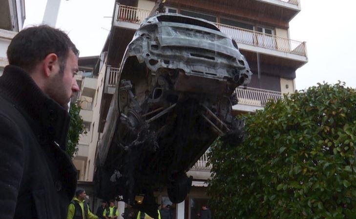 La Liga italiana mostró su solidaridad con Senastiani luego de los incidentes. (Foto Prensa Libre: Sky Sports)