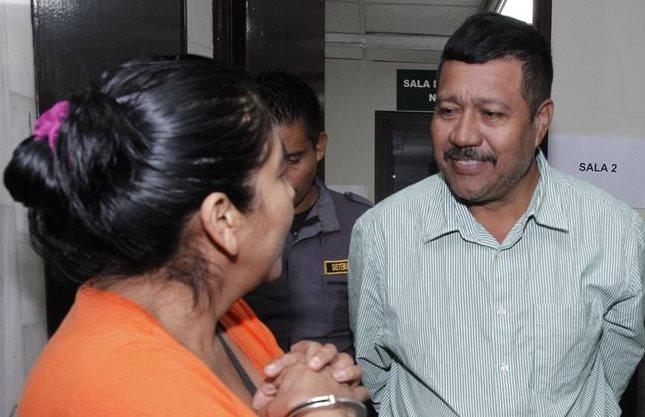 Marciano Rivera Valdez y Albertina Recancoj Chum. (Foto Prensa Libre: Paulo Raquec)