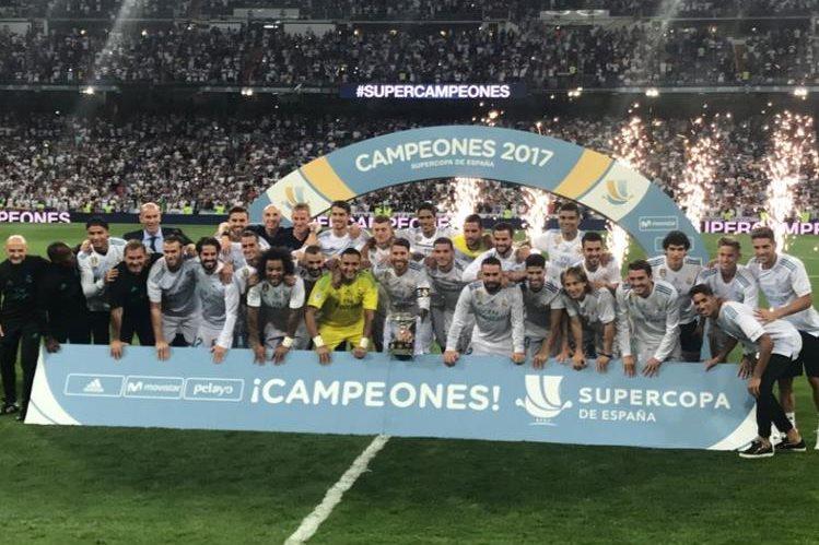 Real Madrid se quedó con la Supercopa de España. (Foto Real Madrid)