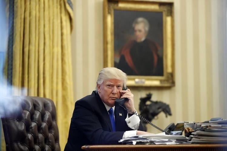 Donald Trump, presidente de EE. UU. (Foto Prensa Libre: AP)
