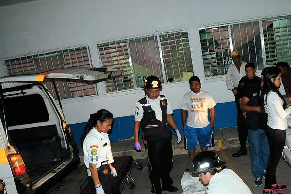 Timoteo García falleció en el  Hospital Regional de Cuilapa, Santa Rosa. (Foto Prensa Libre: Oswaldo Cardona)