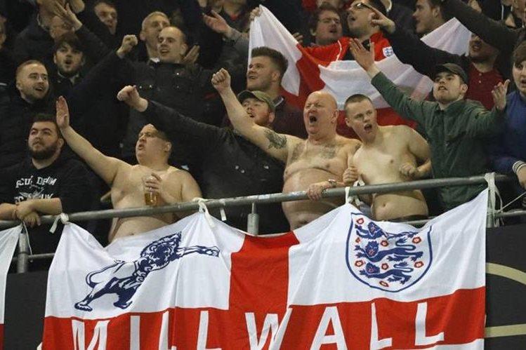 La FA condenó la actitud de sus aficionados en el amistoso Alemania-Inglaterra. (Tomada de Internet)