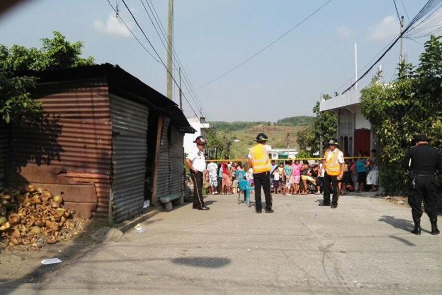 Ataque contra una mujer pudo haber sido ocasionado por extorsionistas que operan en Santa Lucía Cotzumalguapa. (Foto Prensa Libre: Carlos E. Paredes)