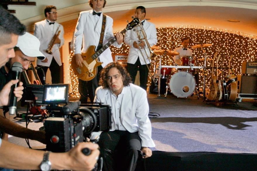 La banda   nacional grabó el video de Princesa en varias locaciones del Centro Histórico.