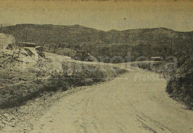 Ruta El Rancho-Zacapa, en 1968. (Foto: Hemeroteca PL)