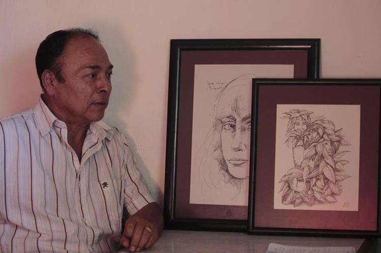 Nelson García de la Pupusería San Miguelito (Foto Prensa Libre Erick Ávila)