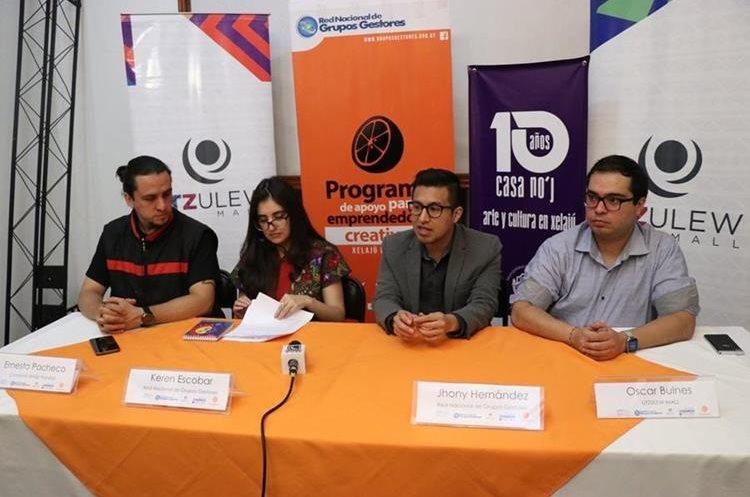 Organizadores de la Feria Naranja dieron a conocer este martes los detalles del evento. (Foto Prensa Libre: María Longo)