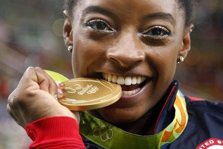 Biles fue la atleta revelación de Río 2016. (Foto Prensa Libre: Hemeroteca)