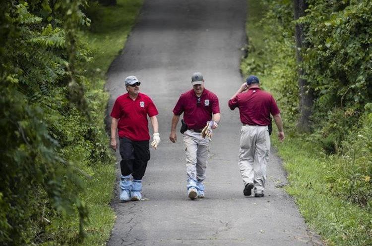 Encuentran en una fosa común el cuerpo de uno de cuatro jóvenes desaparecidos en Pennsylvania. (Foto Prensa Libre: EFE)