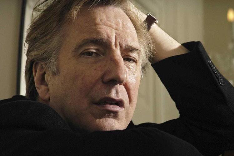 Rickman, quien tenía 69 años, era uno de los actores más respetados en el Reino Unido (Foto: Hemeroteca PL).