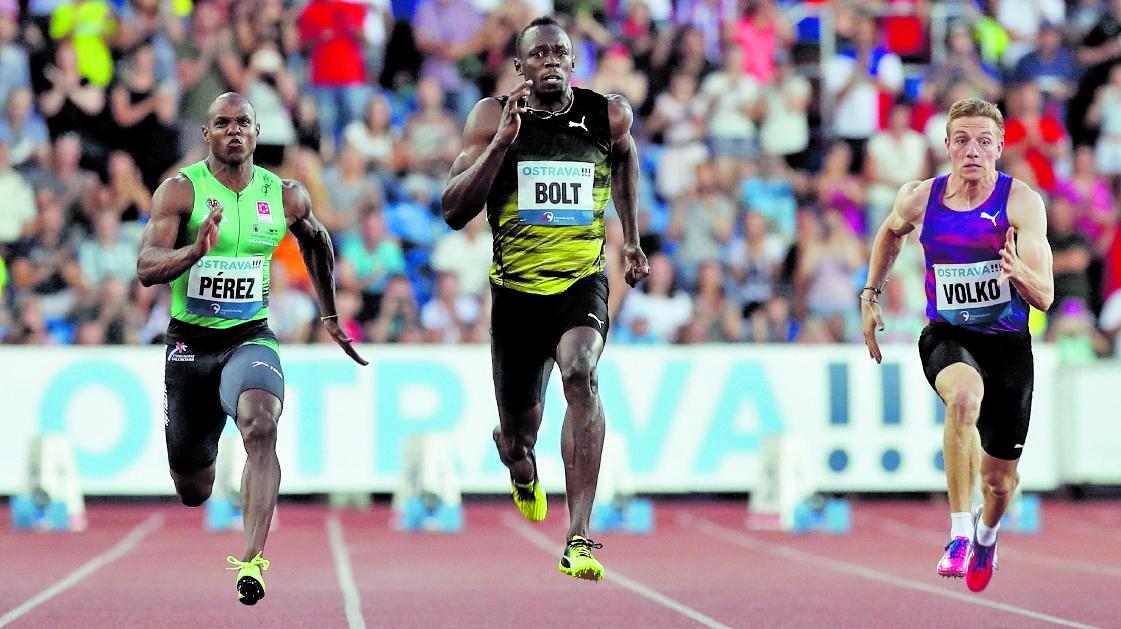 El atleta jamaicano Usain Bolt es el hombre más rápido en los 100 metros planos. (Foto Prensa Libre: EFE)