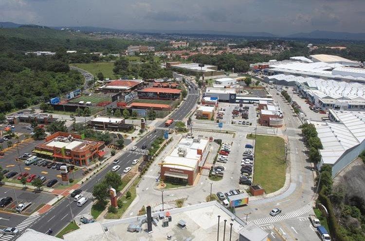 Vista panorámica de Condado El Naranjo.