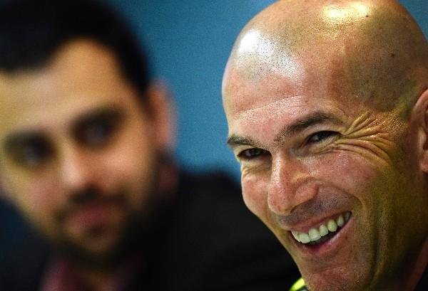 Zinedine Zidane confía en la calidad de su equipo. (Foto Prensa Libre: AFP)