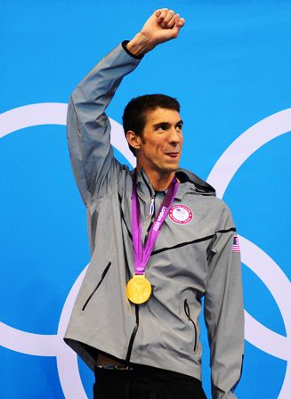Michael Phelps, estrella de la natación mundial. (Foto Prensa Libre: AFP)