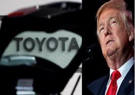 Donald Trump apunta a Toyota por planes de construir planta en México.
