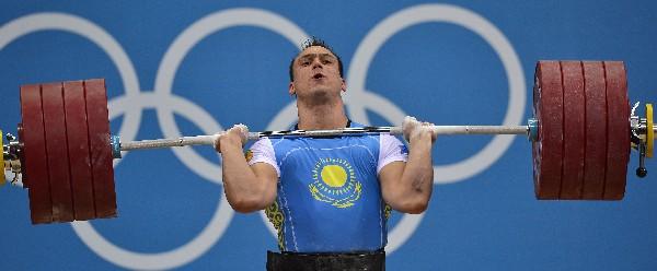 Ilya Ilyin, campeón olímpico, salió positivo en los Juegos de Londres 2012. (Foto Prensa Libre: AFP)
