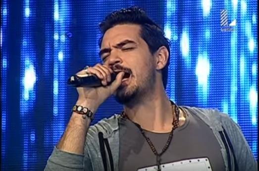 Sebastián Molina, de Argentina, busca ganar el concurso peruano Yo soy, con una imitación de Ricardo Arjona. (Foto Prensa Libre: YouTube)