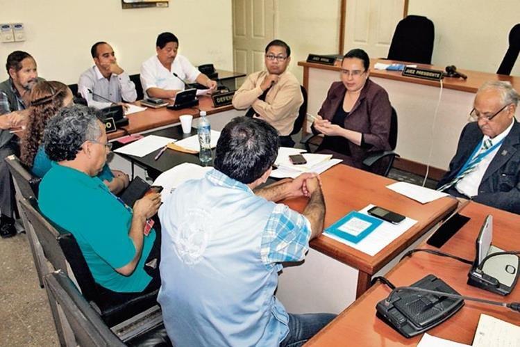 Administradores de Justicia se reúnen en la cabecera de Jutiapa para discutir construcción de dos centros de reclusión para hombres y mujeres.