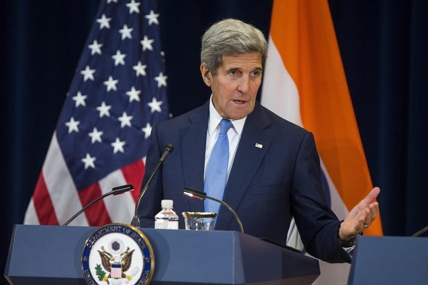 El secretario de Estado de EE.UU., John Kerry, celebró el progreso de paz de Colombia. (Foto Prensa Libre: EFE).